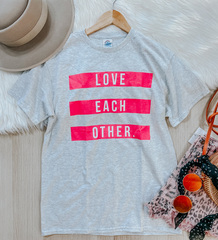Love Each Other Graphic Tee