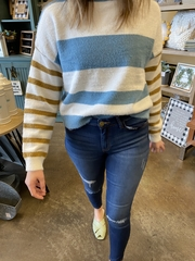 Adele Colorblock Pullover