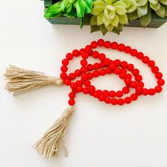 Red Bead Garland