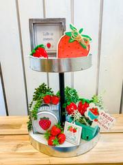 Strawberry Decor Set