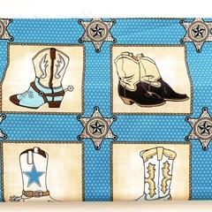 Fabric-Buckaroo Blocks Blue