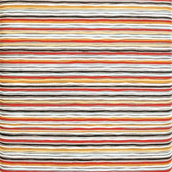 Fabric- Hoot stripe Charcoal