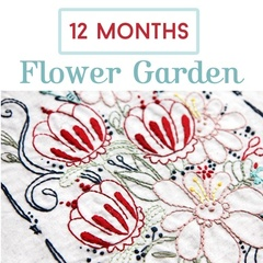 Flower Garden 12 Month Stitch Subscription