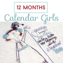 Calendar Girls 12 Month Stitch Subscription