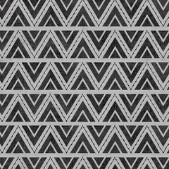 Stitch Triangles Gray