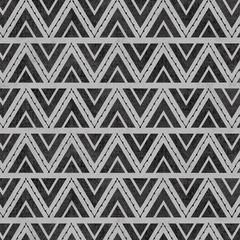 Stitch Triangles Gray