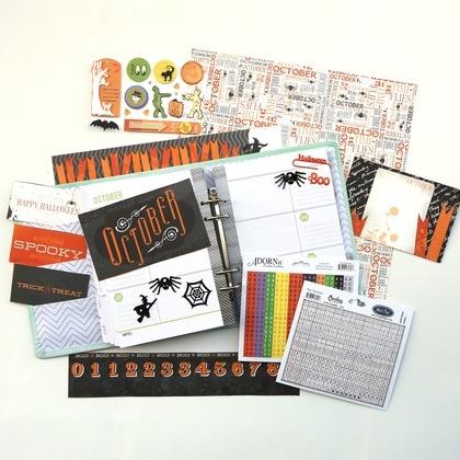 October Planner Kit