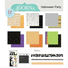 Halloween Party Paper Kit