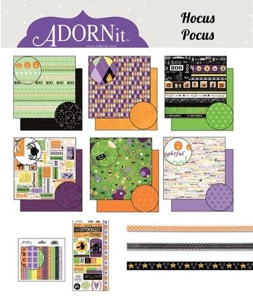 Hocus Pocus Paper Kit
