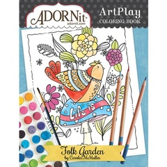 Folk Garden Coloring Book