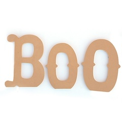 BOO Jumbo Letters