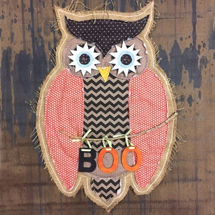 Boo Owl Door Decor