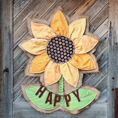 Sunflower Door Decor