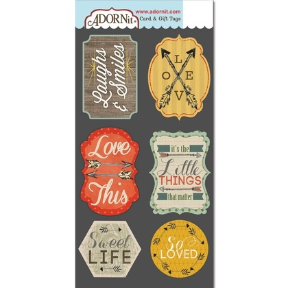 Laughs & Smiles Card Tags