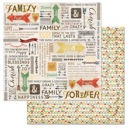 Family Path Word 12x12