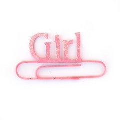GIRL JUMBO PAPER CLIP