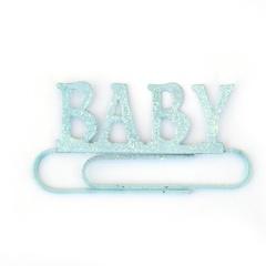 BABY BOY JUMBO PAPER CLIP