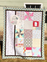 Rhapsody Lap Quilt KIT