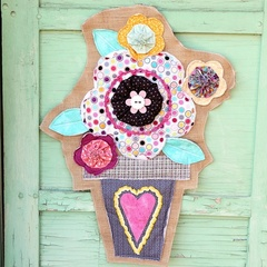 Flower Pot Door Hanger