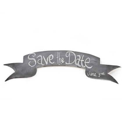 Flying Banner Chalkboard
