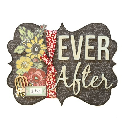 Ever After Word Plaque KIT