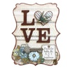 33576 love word plaque kit