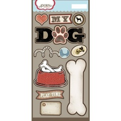 My Dog Laser Die Cut