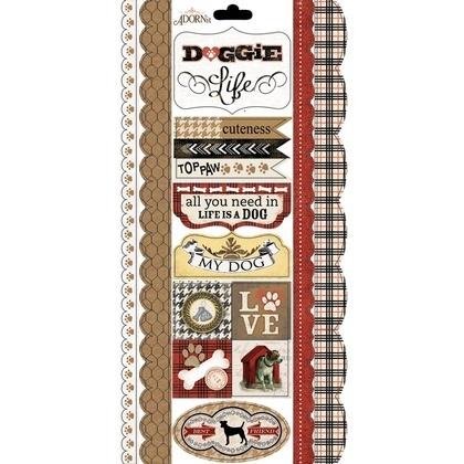 Furry Friend Cardstock Sticker
