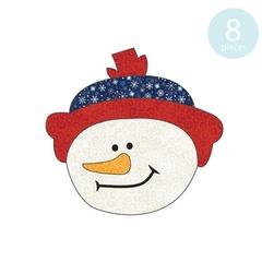 Snowman Beanie Applique