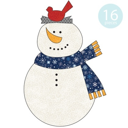 Chilly Snowman Applique