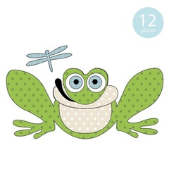 Freddie the Frog Applique