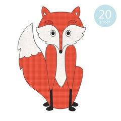 Willi the Fox Applique