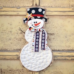 Mr Snowman Door Hanger Kit