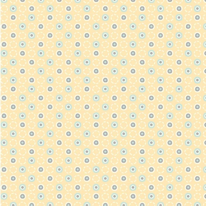 Fabric - Dancing Dots Yellow