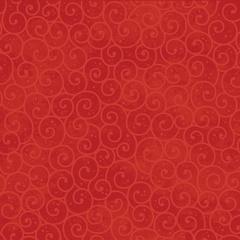 Fabric - Winter Swirl Red