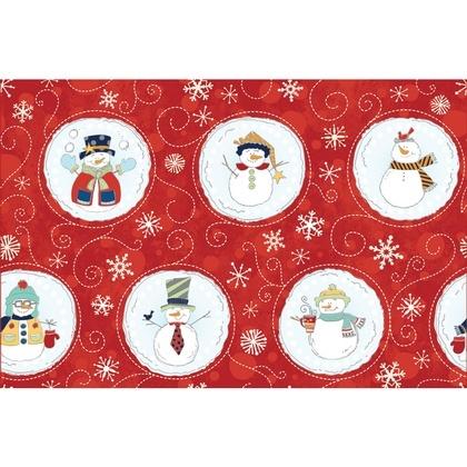 Fabric - Snowballs