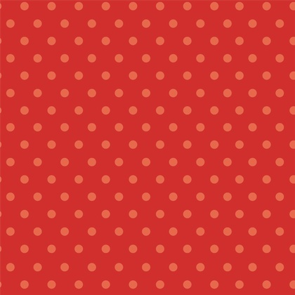 Fabric - BeBop Dot Red