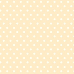 Fabric - BeBop Dot Pale Yellow