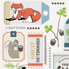 Fabric - Critter Tags