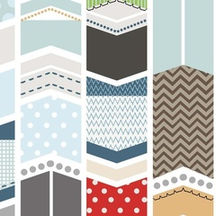 Fabric - Patchwork Arrow White