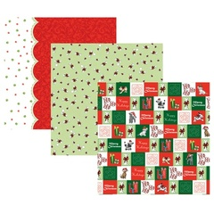 Doggie Christmas Paper Pack