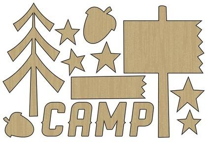 Camp Wood Shape