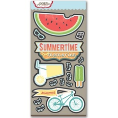 Summertime Memories Laser Die Cut