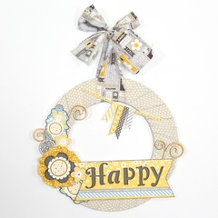 Happy Wreath Project Kit