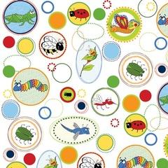 Fabric - Buggy Circles