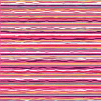 Fabric - Pink Dazzled Stripe
