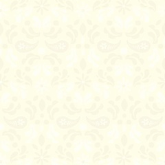 Fabric - Paisley Damask Cream