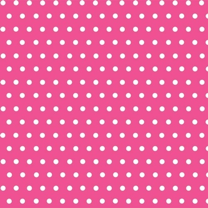 Fabric - Simple Dots Hot Pink