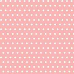 Fabric - Simple Dots Light Pink