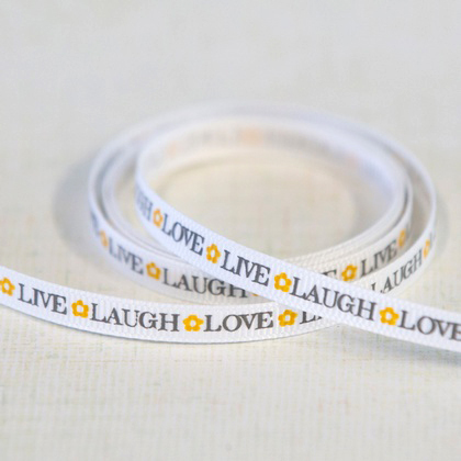 Ribbon - Live Laugh Love